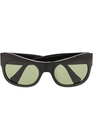 Gucci Curved-frame sunglasses