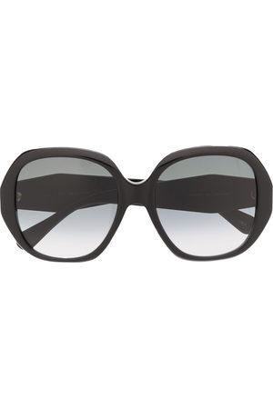 Gucci Oversized frame sunglasses
