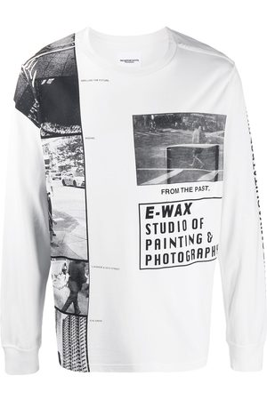 Takahiromiyashita The Soloist Logo print long sleeve t-shirt