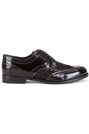Dolce & Gabbana Women Brogues - Lace detail leather derby shoes