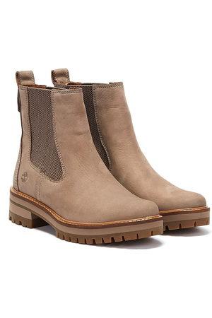 Timberland Courmayeur Valley Womens Grey Chelsea Boots