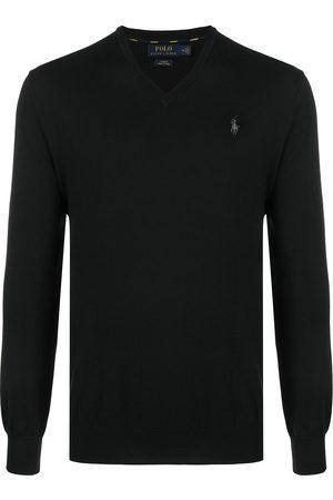 Polo Ralph Lauren Logo embroidered cotton jumper