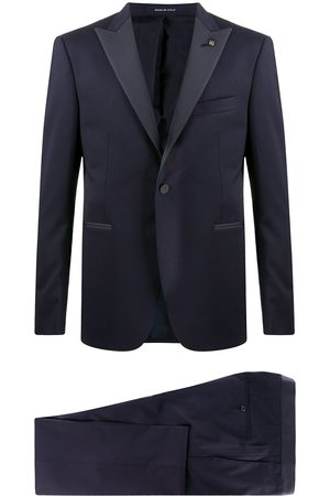 TAGLIATORE Single breasted peak lapel suit