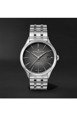 Baume & Mercier Clifton Baumatic 10551 Automatic Chronometer 40mm Stainless Steel Watch, Ref. No. M0A10551