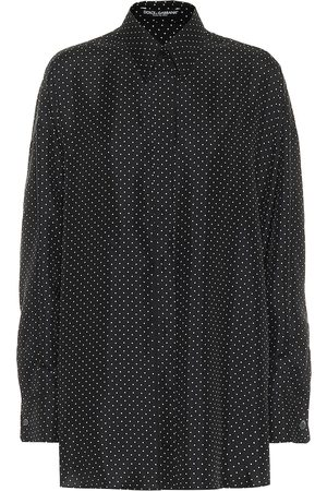 Dolce & Gabbana Polka-dot silk shirt