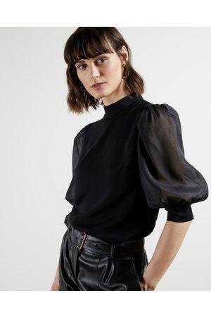 Ted Baker Women Tops - Organza Oversized Sleeve Top