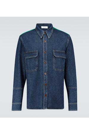 WALES BONNER Dub Contrast denim shirt
