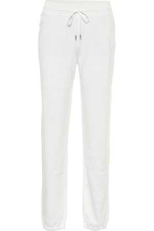 Loro Piana Quiberon silk and cotton trackpants