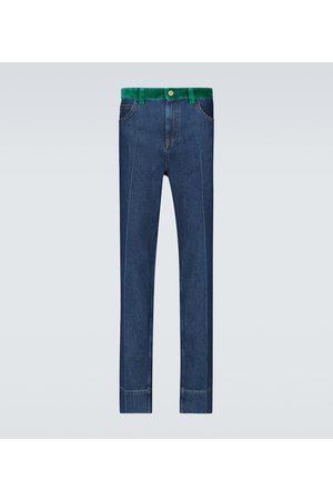 WALES BONNER Dub Contrast waistband jeans