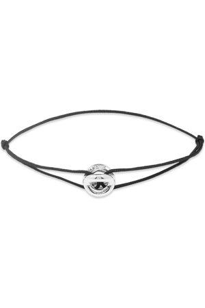 Le Gramme Maillon Polished Cord Bracelet