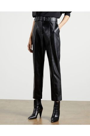 Ted Baker Faux Leather Belted Trousers