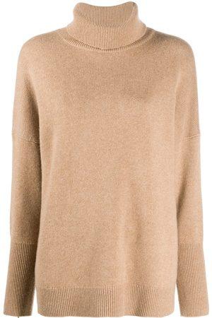 Chinti And Parker High neck cashmere jumper - Neutrals