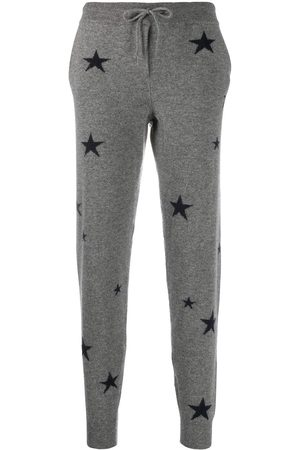 Chinti And Parker Star-print cashmere track pants
