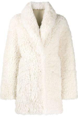 AMEN Shawl-collar coat
