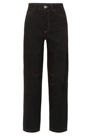 MATTHEW ADAMS DOLAN Women Trousers - DENIM - Denim trousers