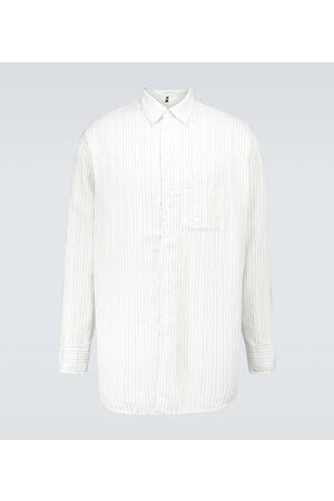 OAMC Henry technical striped overshirt