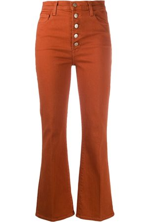 J Brand Cropped flare trousers
