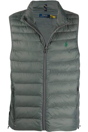 Polo Ralph Lauren Logo-embroidered quilted gilet