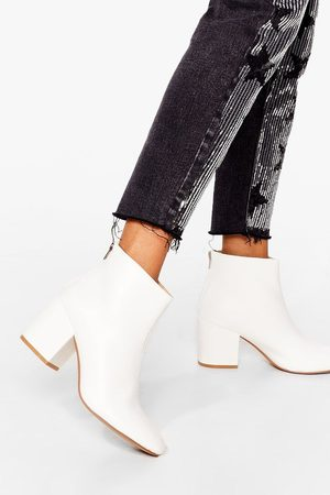 NASTY GAL Women Ankle Boots - Womens Stand By Me Faux Leather Ankle Boots - - 3