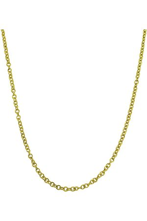 SuperJeweler 10K (1.30 g) 1mm Open Cable Chain Necklace, 18 Inches