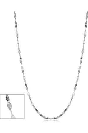 SuperJeweler 10K (1.10 g) 1.9mm Mirror Flat Link Chain Necklace, 20 Inches