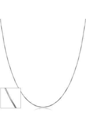 SuperJeweler 10K (0.95 g) 0.6mm Venetian Box Chain Necklace, 18 Inches