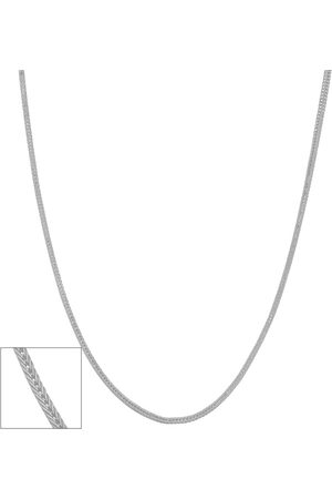 SuperJeweler 14K (1.90 g) 0.9mm Square Foxtail Chain Necklace, 18 Inches