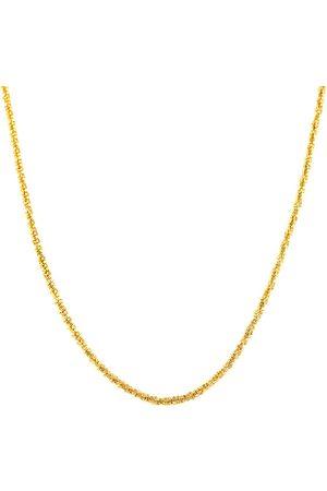 SuperJeweler 10K (2.90 g) 1.2mm Adjustable Sparkle Chain Necklace, 22 Inches