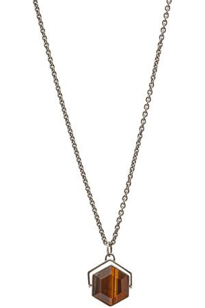 M. COHEN Hexagon Spinning Necklace