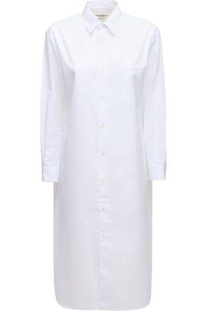 JUNYA WATANABE Cotton Poplin Shirt Dress