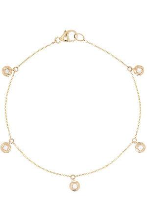 Dana Rebecca Designs Princess 14kt yellow diamond bracelet