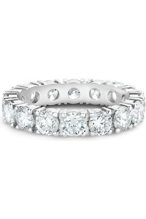 De Beers Platinum diamond Allegria small eternity band ring
