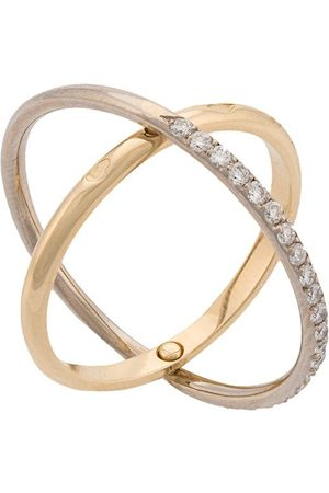 CHARLOTTE CHESNAIS Elipse ring - Metallic