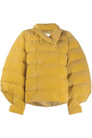 HENRIK VIBSKOV Exaggerated-shoulder puffer jacket