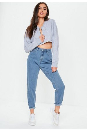 Missguided Tall High Waisted Rigid Mom Jeans