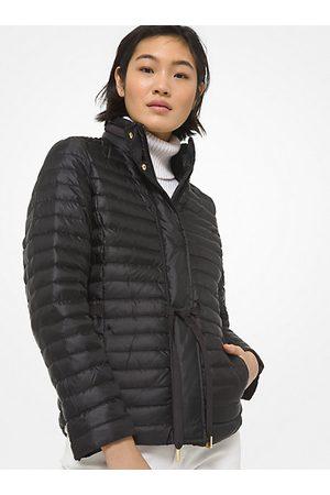 Michael Kors MK Packable Nylon Puffer Jacket - - Michael Kors
