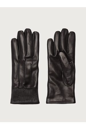 Salvatore Ferragamo Men Gloves - Men Lined nappa gloves