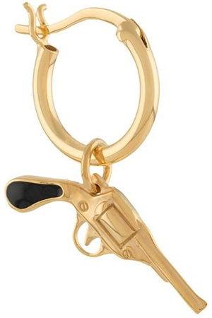 TRUE ROCKS Pistol hoop earring