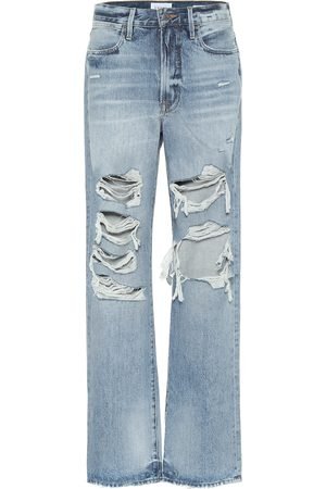 Frame Hollywood mid-rise wide-leg jeans