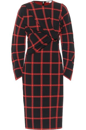 Stella McCartney Checked midi dress