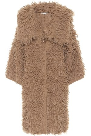 Stella McCartney Alpaca and wool-blend coat
