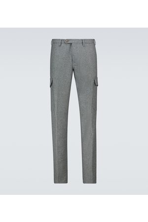 Thom Sweeney Flannel cargo pants