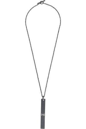 Parts of Four Necklaces - Plate pendant necklace
