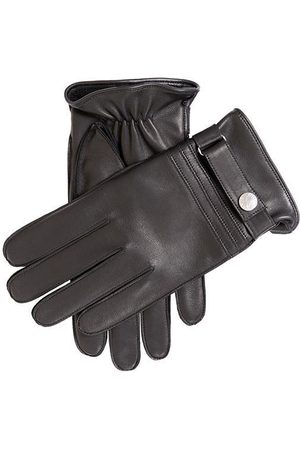 Dents Men's Cashmere Lined Leather Gloves, / 8