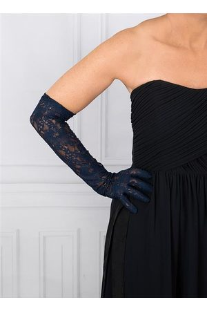 Dents Women's Long Lace Evening Gloves, / ONE