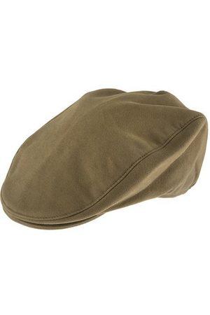 Dents Moleskin Flat Cap, / L