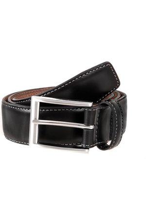 Dents Full Grain Leather Belt, BLACK / L