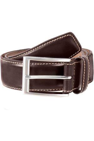 Dents Full Grain Leather Belt, BROWN / L