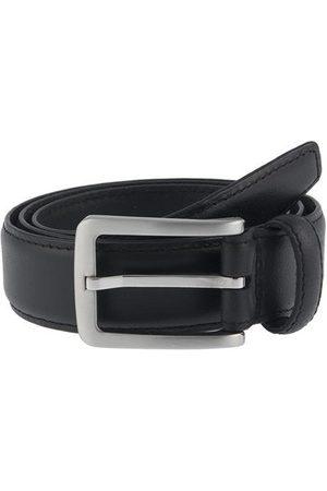 Dents Plain Leather Belt, / L