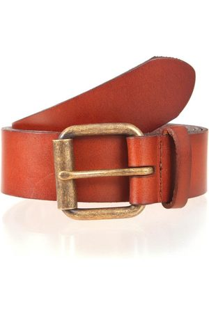 Dents Waxed Leather Belt, / L